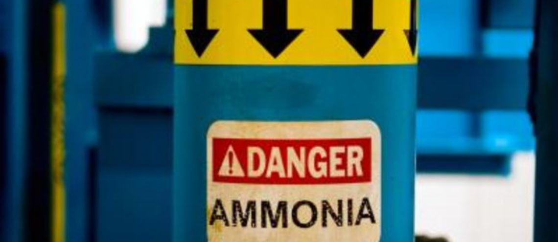 Vazamento de amônia em frigorífico intoxica 300