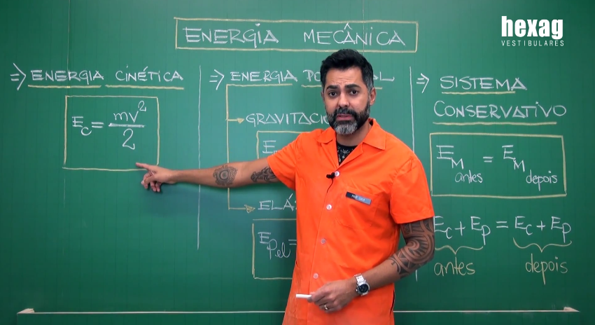 Videoaula – Energia Mecânica