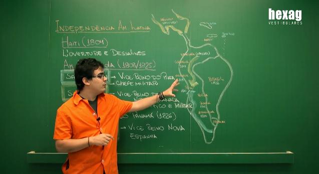 Videoaula – Independência da América Latina