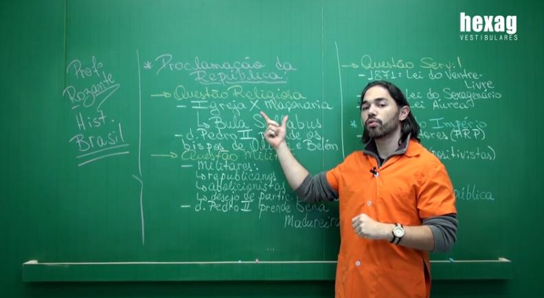 Videoaula – Proclamação da República