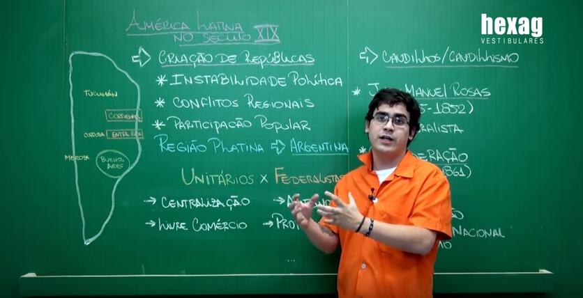 Videoaula – América Latina no século XIX (parte 1)