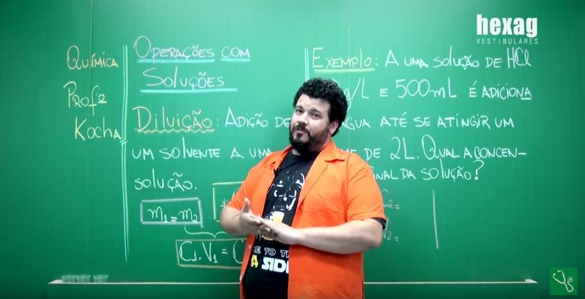 Videoaula – Operações com Soluções: Diluição