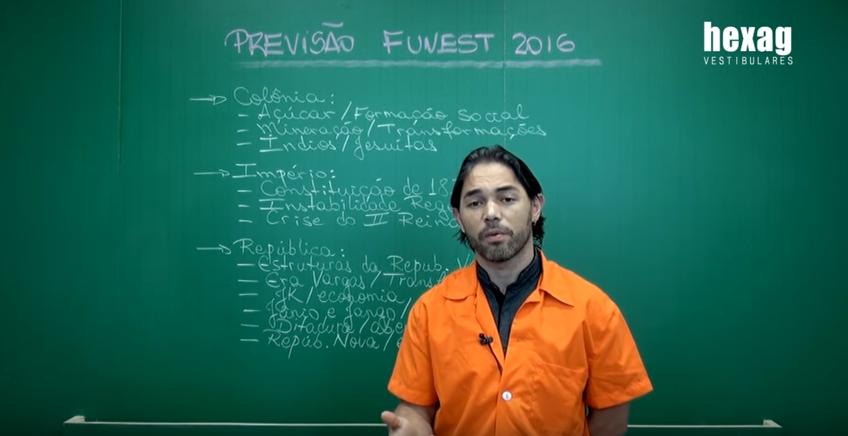 Previsão Fuvest 2016 – História do Brasil