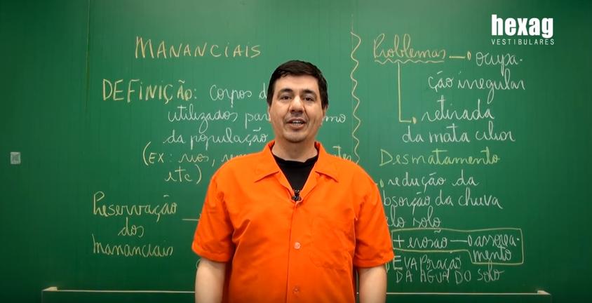 Aula em vídeo – Mananciais