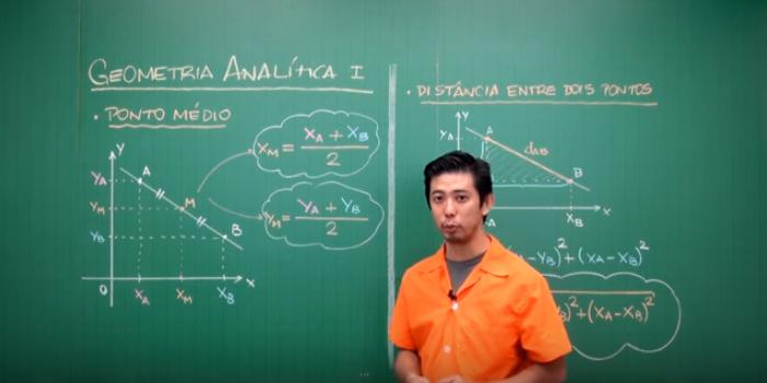 Aula em vídeo – Geometria Analítica (Parte 1)