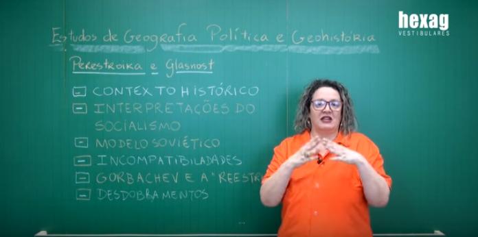 Aula em vídeo – Perestroika e Glasnost