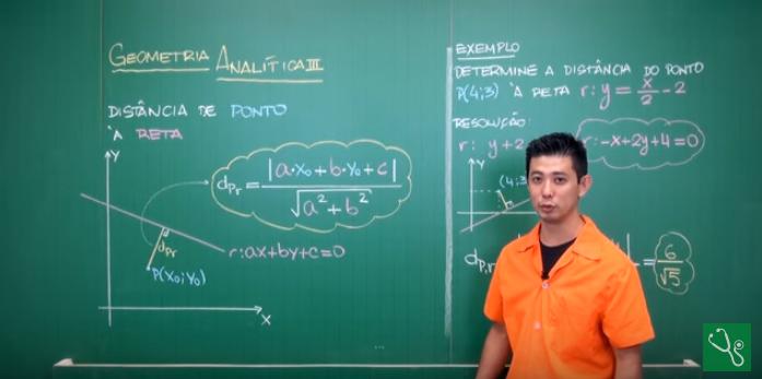 Aula em vídeo – Geometria Analítica (Parte 3)