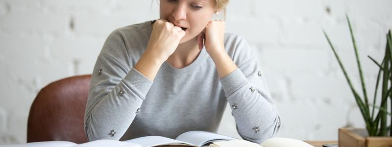 Ansiedade antes da prova – Dicas para não se desesperar