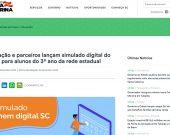 Sec. Educação e parceiros lançam simulado digital do Enem para alunos do 3º ano da rede estadual