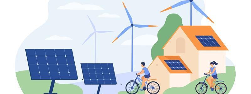 Como são os fluxos de energia no ecossistema?